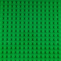 Minifig 16*32 Dots Building Block Baseplates - Green - Baseplate
