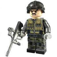 Minifig 22nd Special Air Service (SAS) Grey Team Leader - Minifigs