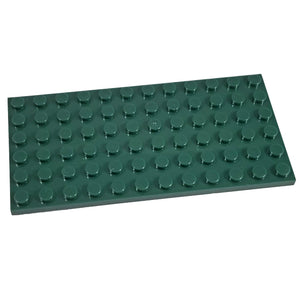 Minifig 6x12 Base Dark Green - Baseplate