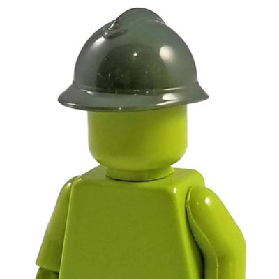 Minifig Adrian French Steel Helmet Green - Headgear