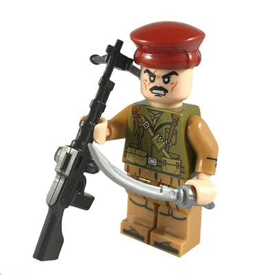 Minifig Afghanistan Taliban Fighter Ali-Brick Forces