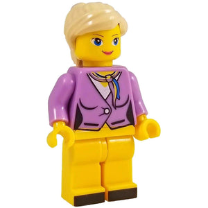 Minifig Airline Stewardess - Minifigs