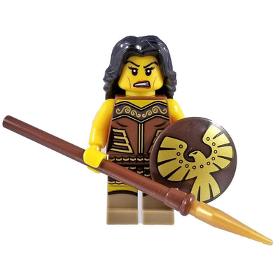 Minifig Amazon Warrior - Minifigs