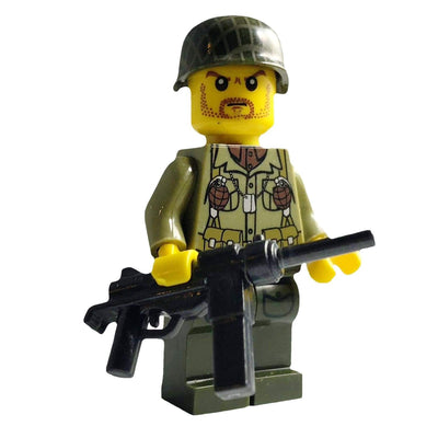 Minifig American Infantry Carter - Minifigs