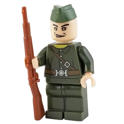 Minifig American World War I Infantry-Brick Forces
