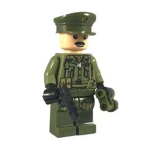 Minifig American World War II Infantry Officer Mark - Minifigs