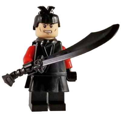 Minifig Ancient Chinese Warrior Huai - Minifigs