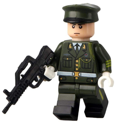 Minifig Army Dress Uniform Guard Mac - Minifigs
