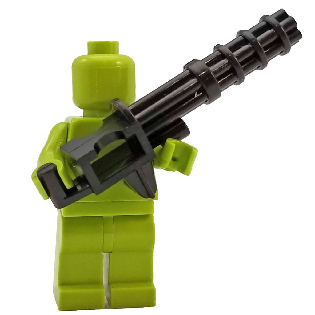 Minifig Avenger Minigun - Heavy Weapon