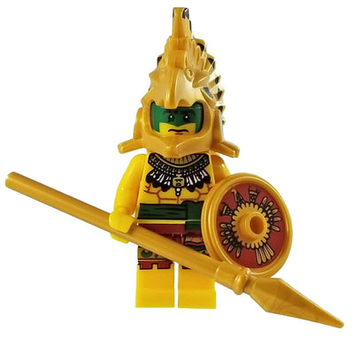 Minifig Aztec Warrior-Brick Forces