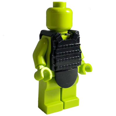 Minifig Ballistic Tactical Vest Black - Vests