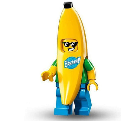 Minifig Banana Suit Guy - Minifigs
