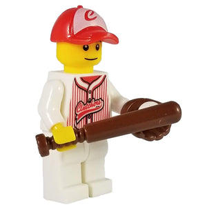 Minifig Baseball Player Joe - Minifigs