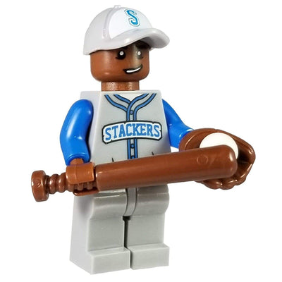 Minifig Baseball Player Jose-Brick Forces