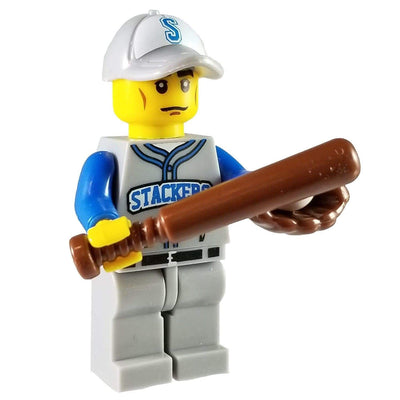 Minifig Baseball Player Mickey-Brick Forces