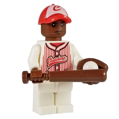 Minifig Baseball Player Willie-Brick Forces