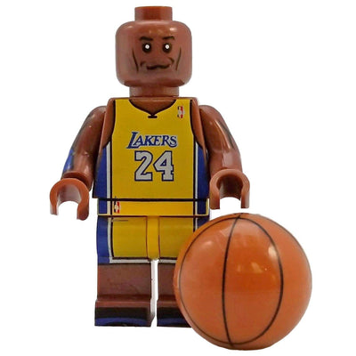Minifig Basketball Player Bryant #24-Brick Forces