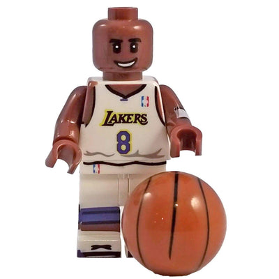 Minifig Basketball Player Bryant #8-Brick Forces