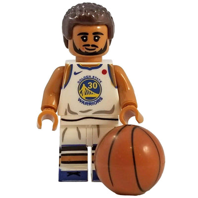 Minifig Basketball Player Curry-Brick Forces