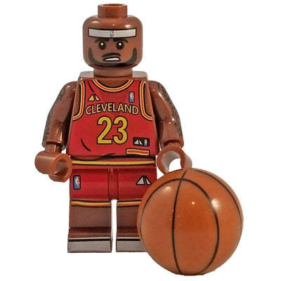 Minifig Basketball Player James-Brick Forces