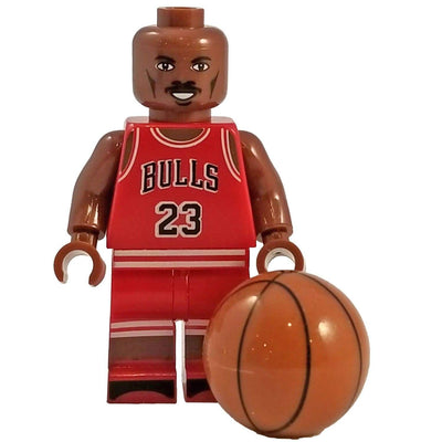 Minifig Basketball Player Jordan - Minifigs