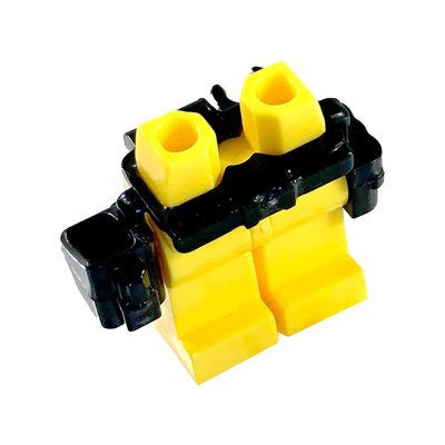 Minifig Belt and Holster BLACK - Belts