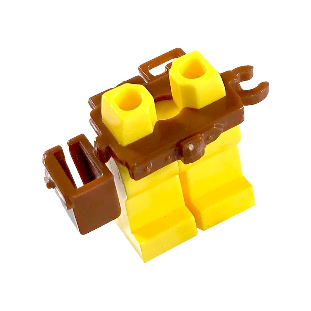 Minifig Belt and Holster BROWN - Belts