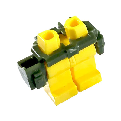 Minifig Belt and Holster Green - Belts
