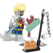 Minifig Biochemical Zombie Crisis John-Brick Forces