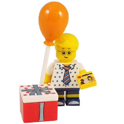 Minifig Birthday Party Boy - Minifigs