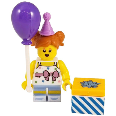 Minifig Birthday Party Girl - Minifigs