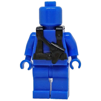 Minifig Black Tactical Harness 4 - Vests
