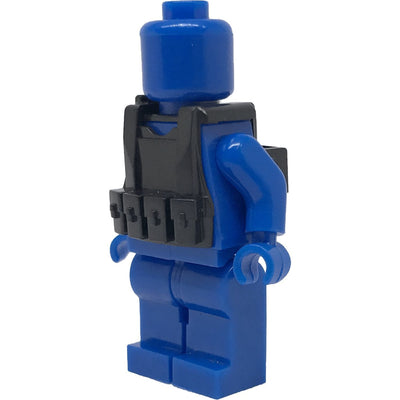 Minifig Black Tactical Vest 2 - Vests