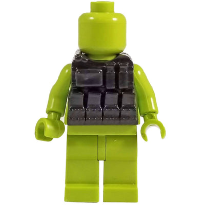 Minifig Black Tactical Vest 3 - Vests