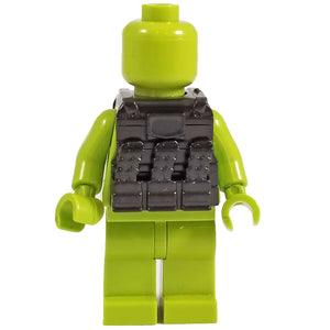 Minifig Black Tactical Vest 4 - Vests