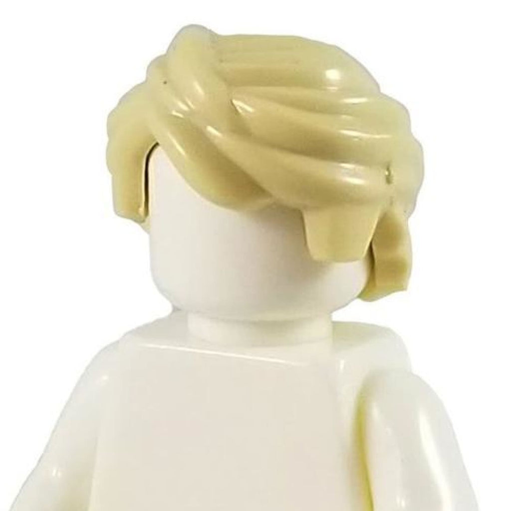 Minifig Blonde Hair 15 - Hair