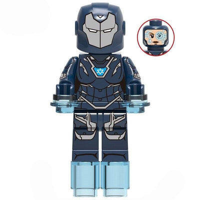 Minifig Blue Armor Pepper - Minifigs