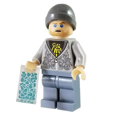 Minifig Breaking Bad Jesse Pinkman (Grey Bennie) - Minifigs