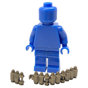 Minifig Brick World War II 7.62mm Maxim Machine Gun Ammunition - Machine Gun