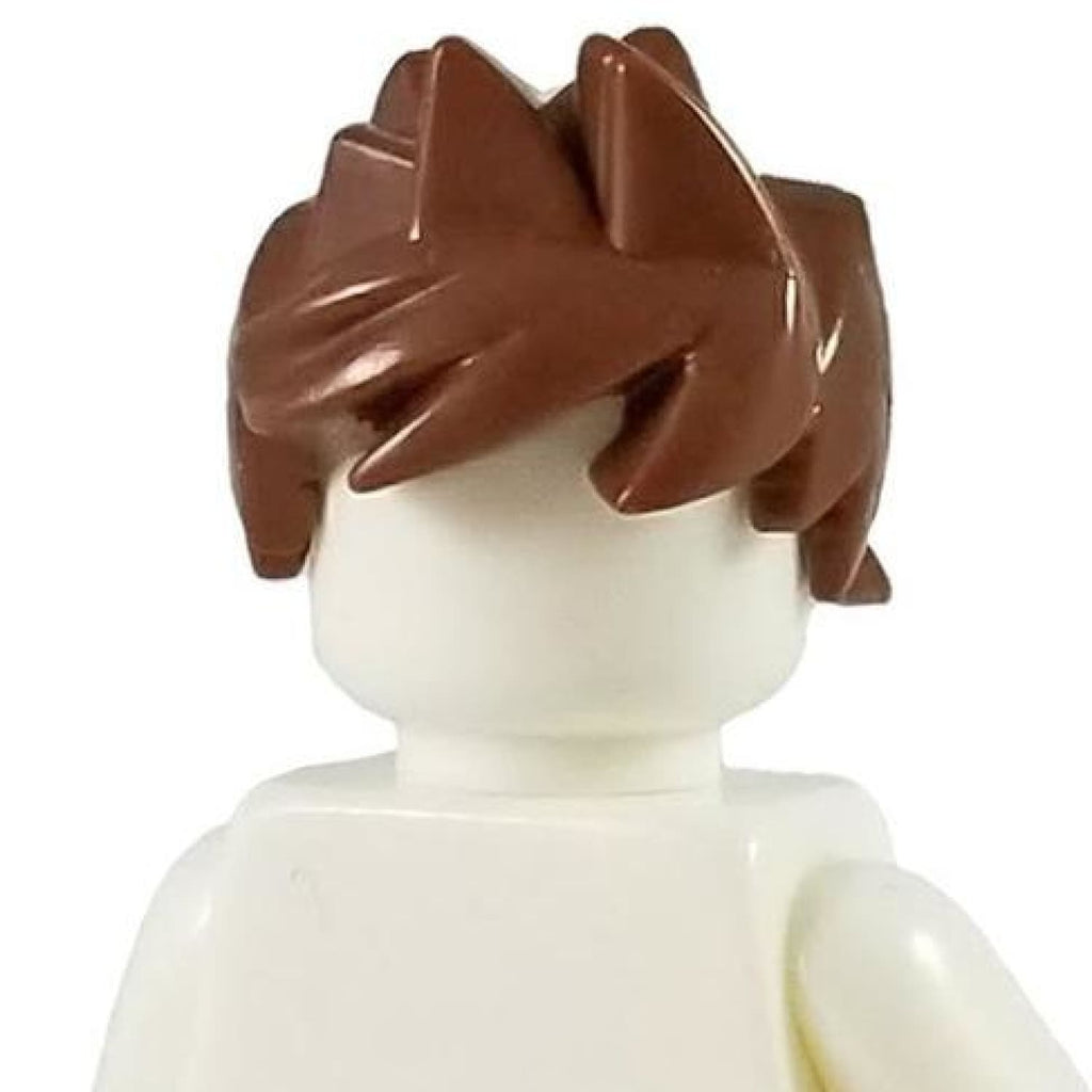 Minifig Brown Hair 7 - Hair