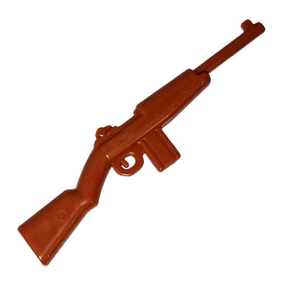 Minifig Brown M1 Carbine Rifle - Rifle