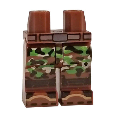 Minifig CAMO Legs-Brick Forces