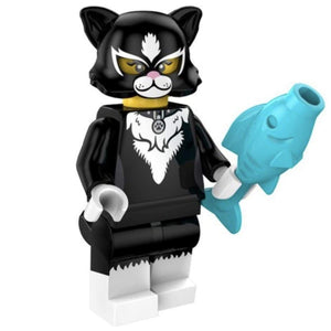 Minifig Cat Costume Girl - Minifigs