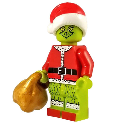 Minifig Christmas Grinch - Minifigs