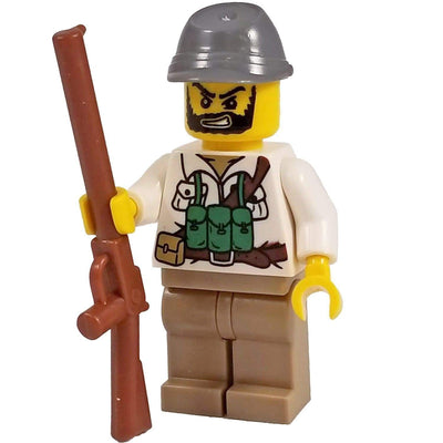 Minifig Civil War Confederate Soldier - Minifigs