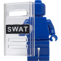 Minifig Clear SWAT Shield - Shield