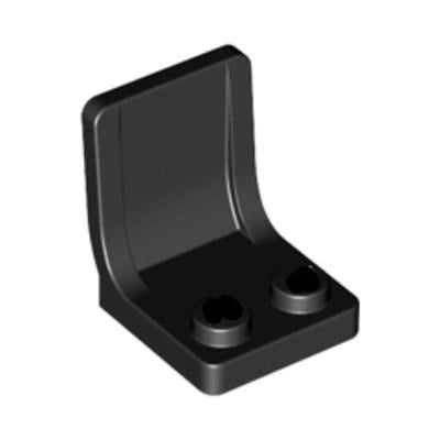 Minifig Color Seat or Chair - Black - Accessories
