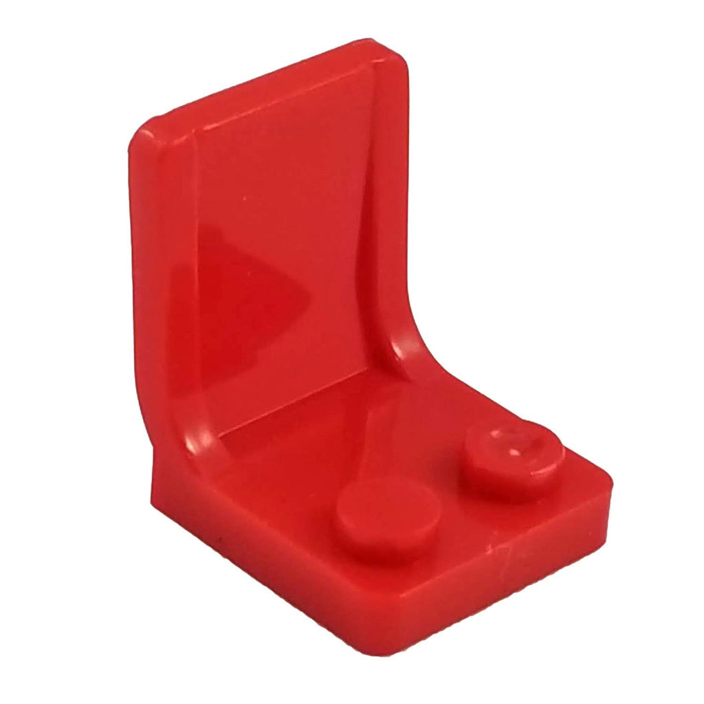 Minifig Color Seat or Chair - Red - Accessories