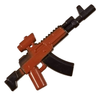 Minifig Colored AK-12 - Machine Gun