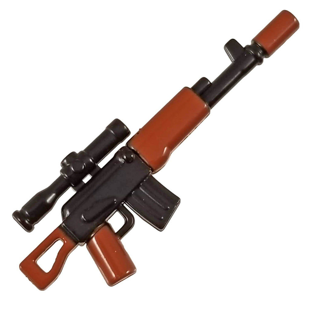 Minifig Colored Dragunov Sniper Rifle - Rifle